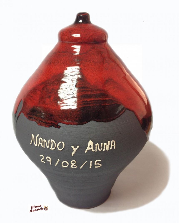 Hucha personalizada en cerámica