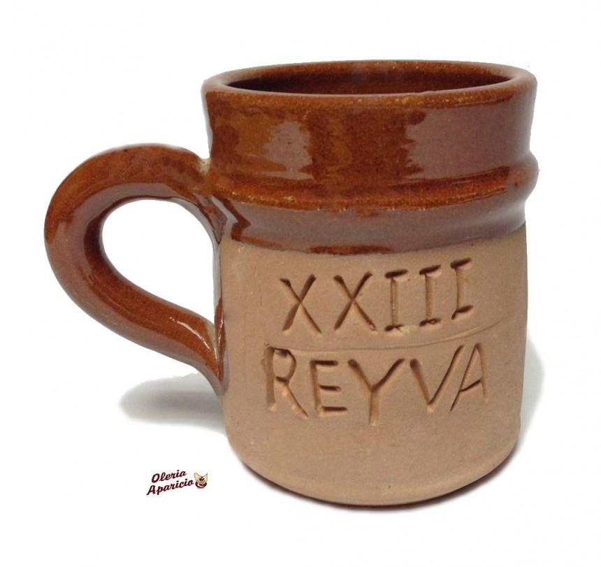Jarra de cerveza cerámica personalizada