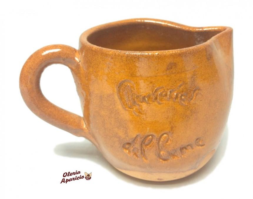 Taza vino personalizada en alfarería y cerámica