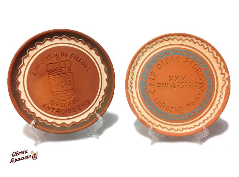 Platos personalizados en alfarería y cerámica