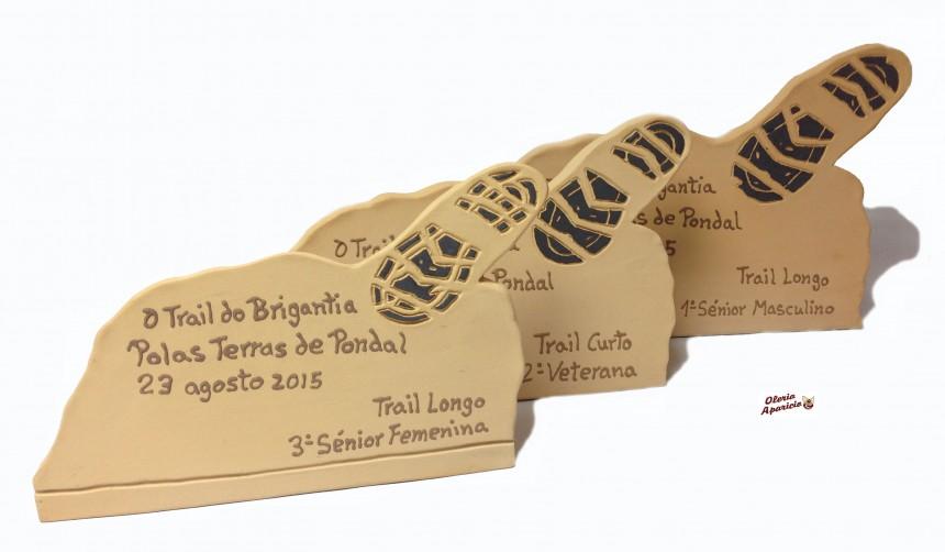 Trofeos personalizados en ceramica