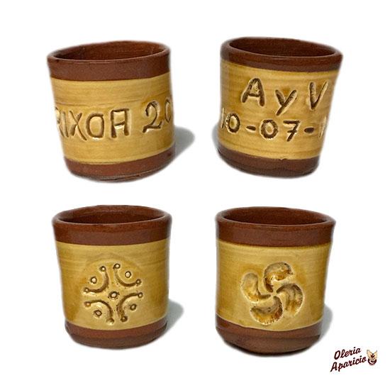 Vasos para licores personalizados