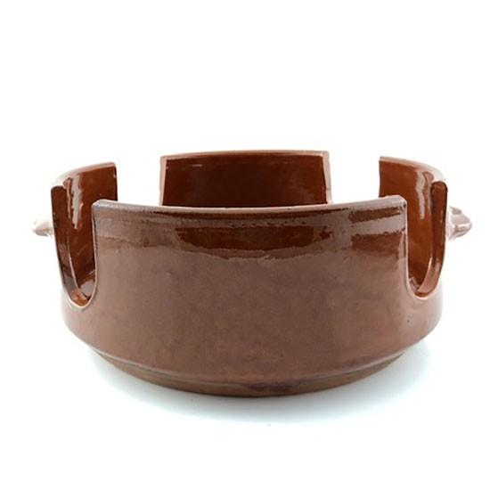 asador de carne de cerámica