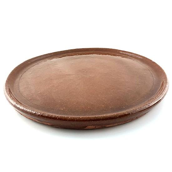 plato chuletón de barro